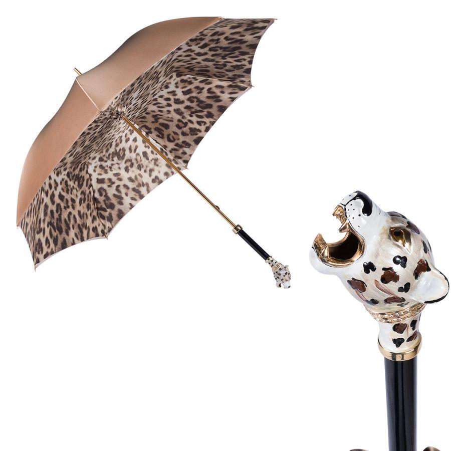 Зонт-трость Pasotti Sand Jaguar Lux