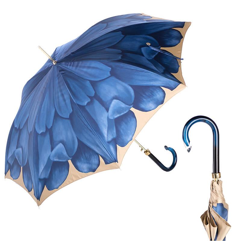 Зонт-трость Pasotti Uno Georgin Blu