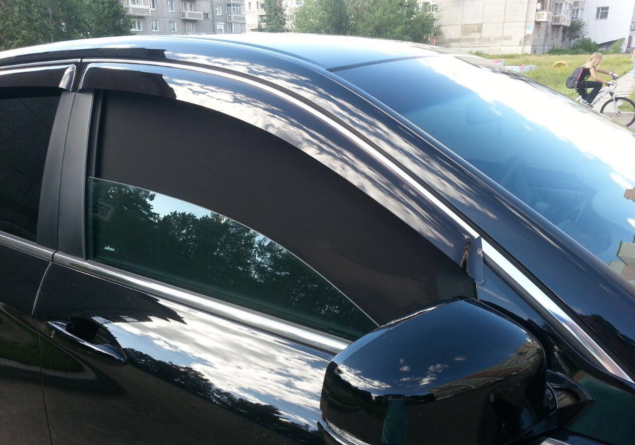 Съемная тонировка Opel Astra H (Седан)