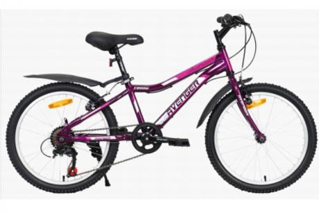 """Велосипед 20"""" AVENGER C200W фиолетовый"""