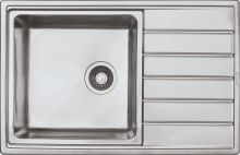 Мойка врезная Seaman Eco Roma SMR-7850A, Без Отверстий, Стандартная Комплектация