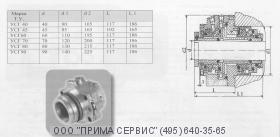 Торцовое уплотнение насоса НКВ1000/200 и НКВ1000/320
