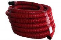 Труба гофрированная двустенная ПНД гибкая тип 450 (SN12) с/з красная д110 (50м/уп) Промрукав