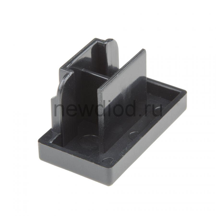 Заглушка торцевая для шинопровода UFB-Q123 C21 BLACK 1 POLYBAG