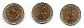 Набор Красная Книга 1992 (3 монеты номиналом 10 рублей)
