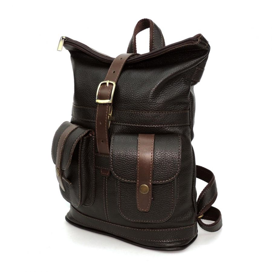 """Коричневый кожаный рюкзак  """"Алейо"""""""