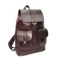 """Бордовый кожаный рюкзак  """"Орнелла"""""""