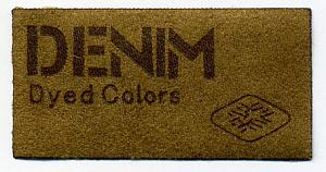 Термо-аппликация HKM Denim dyed colors 70 мм х 30 мм. Германия (28353)