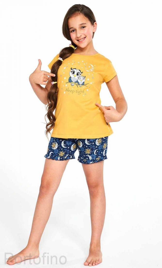 489-86 Пижама для девочек Cornette