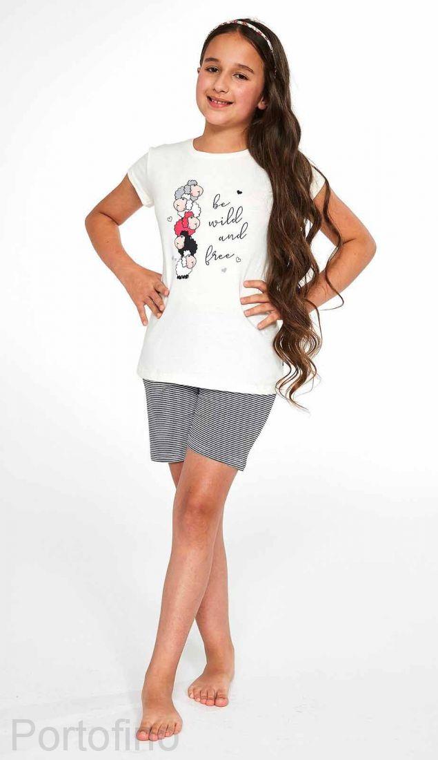 788-83 Пижама для девочек Cornette