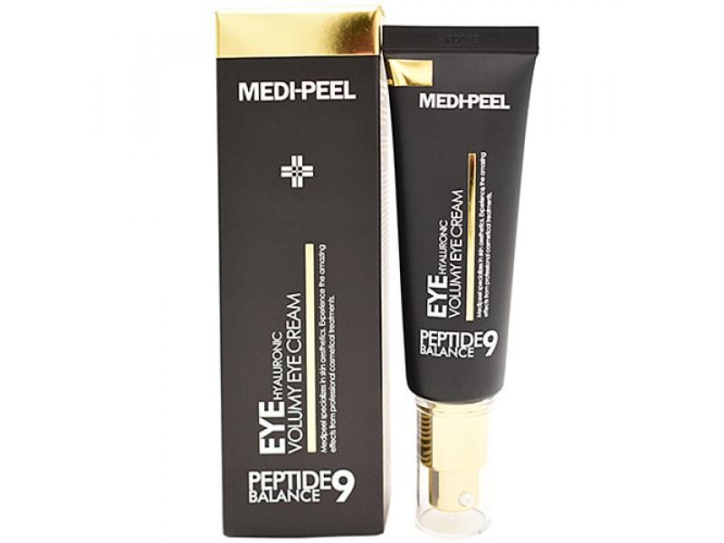 Омолаживающий крем для век с пептидами MEDI-PEEL Peptide Balance9 Eye Hyaluronic Volumy Eye Cream