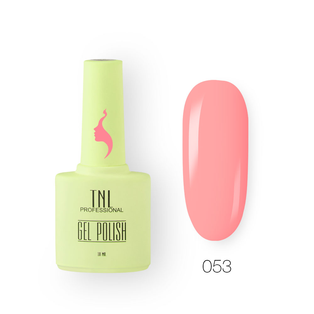 Гель-лак TNL 8 Чувств №053 - розовое кружево (10 мл.)