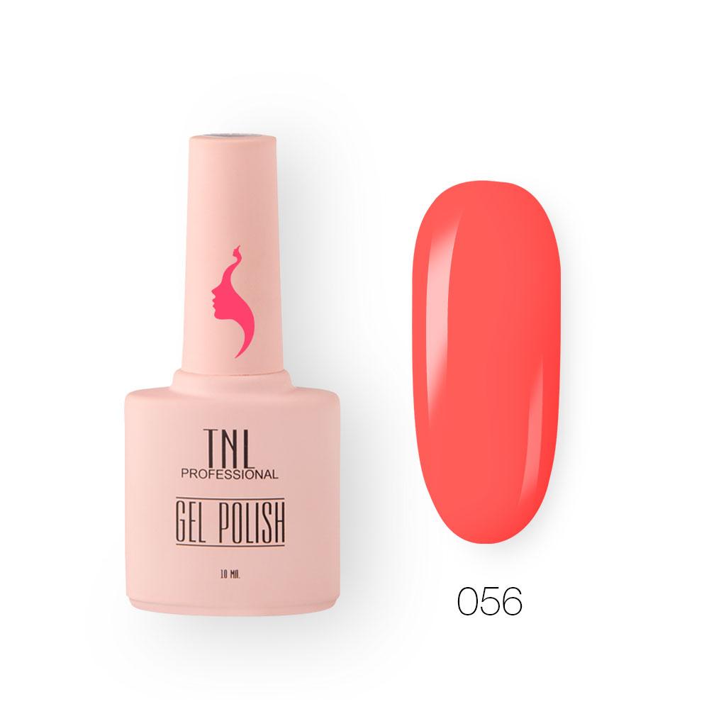 Гель-лак TNL 8 Чувств №056 - розовая заря (10 мл.)