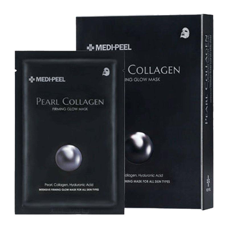 Разглаживающая маска с жемчугом и коллагеном Medi-Peel Pearl Collagen Mask