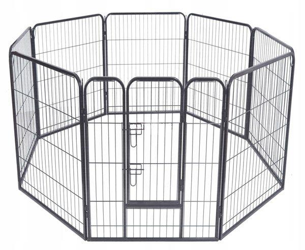 Усиленный вольер для собак 8х80х105