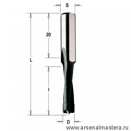 CMT 312.080.11 Сверло для дюбельного фрезера RH (Mafell)