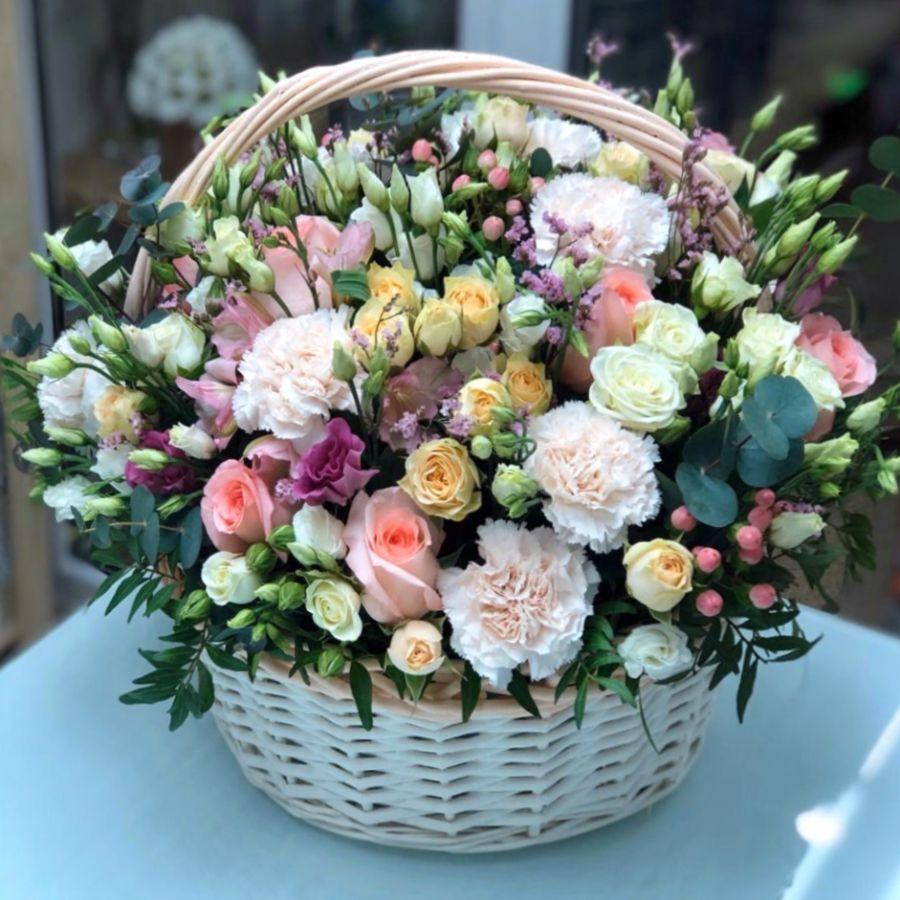 Цветы в корзине №2