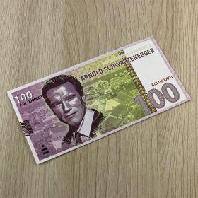 100 рублей ARNOLD SCHWARZENEGGER (с водяными знаками)