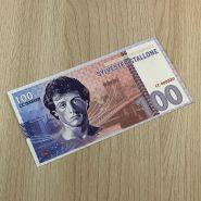 100 рублей SYLVESTER STALLONE (с водяными знаками)