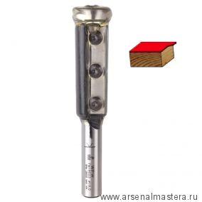 Фреза копирующая сменные ножи верхний подшипник D19 B50 Z2 хвостовик 12 WPW FM19022