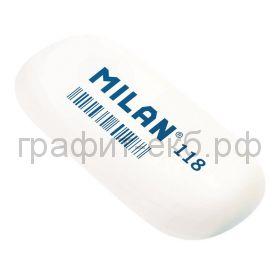 Ластик MILAN овальный каучук 118