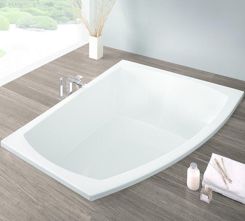 Ванна с левым и правым разворотом Hoesch LARGO 3694 / 3693 180x130 ФОТО