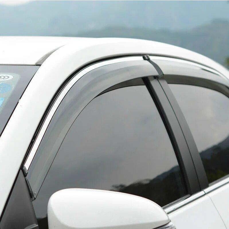 Дефлекторы окон Renault Sandero (2014-2021г)