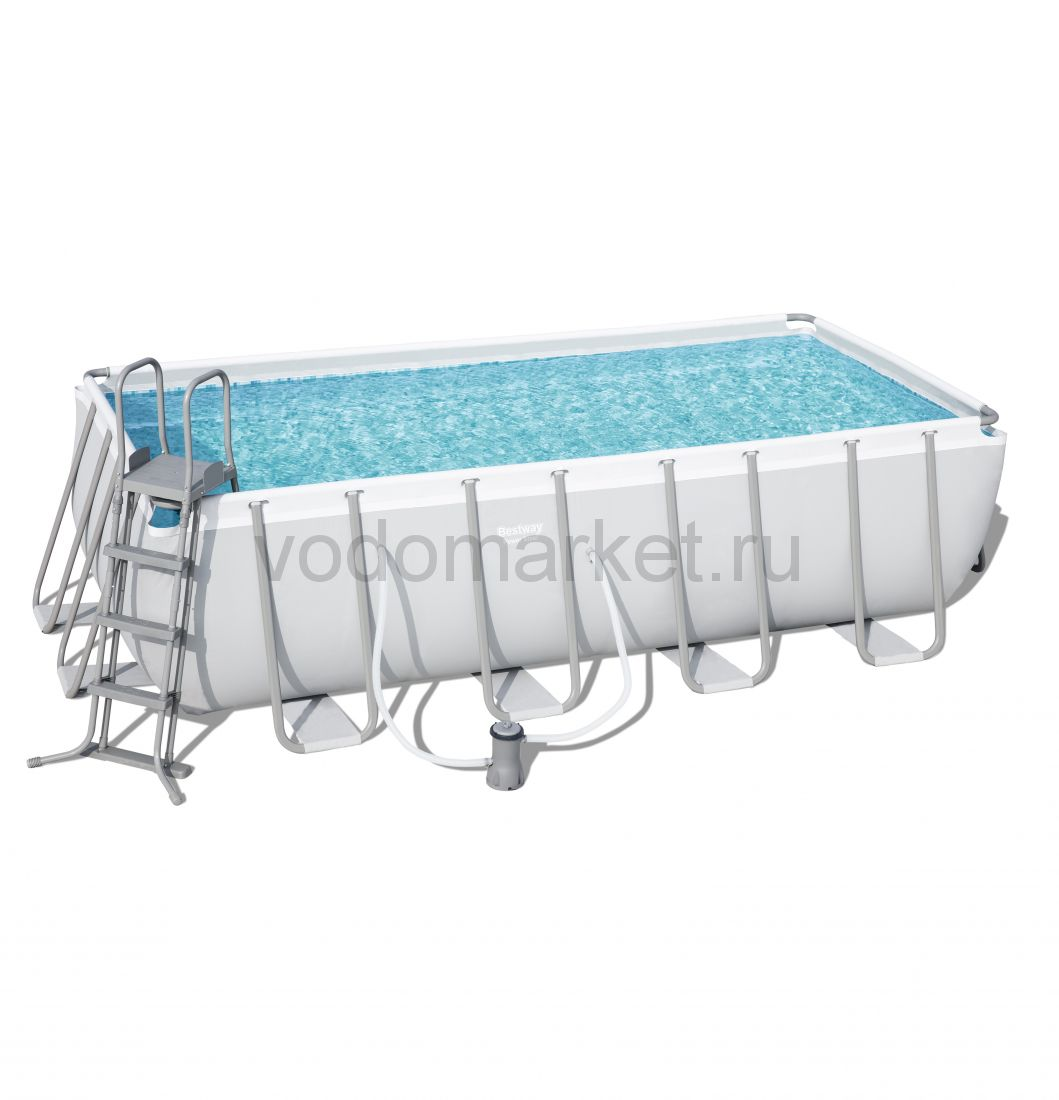 488х244х122см (56670) Bestway каркасный бассейн