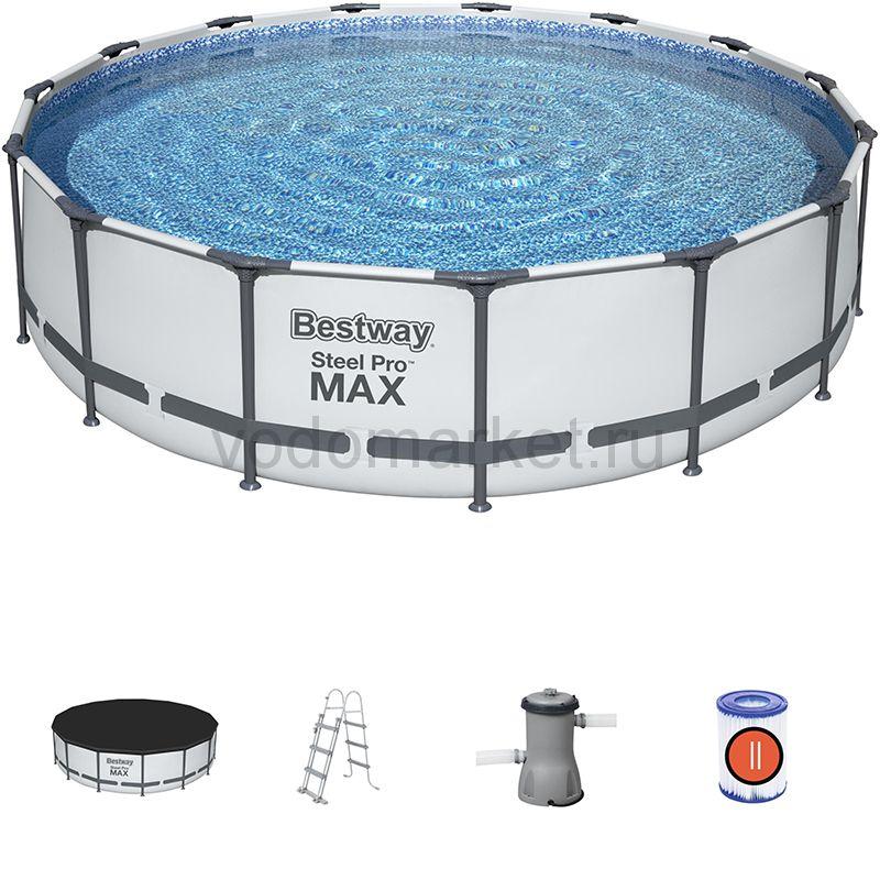 457х107см (56488) Bestway каркасный бассейн