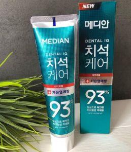 Оригинал Median Dental IQ 93% Prevent Gingivitis Зубная паста для предотвращения гингивита и воспаления дёсен Median Dental IQ 93% Prevent Gingivitis