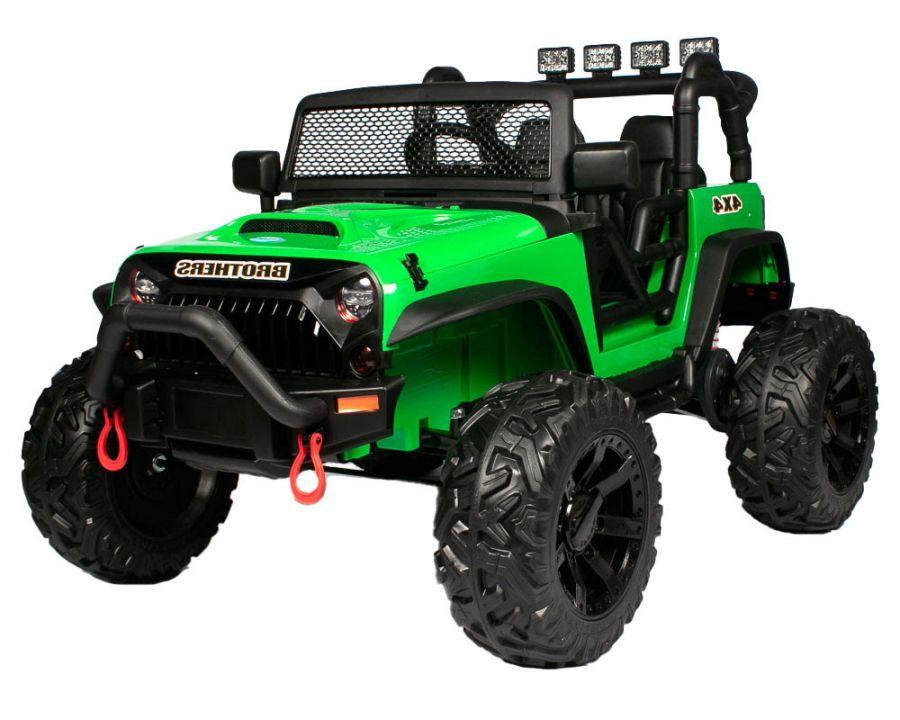 Детский электромобиль Jeep Wrangler JC666 4x4