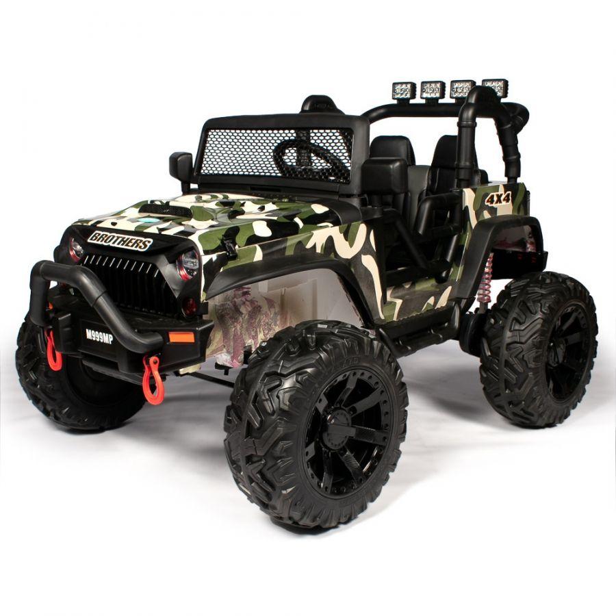 Детский электромобиль Jeep Wrangler JC666 24V