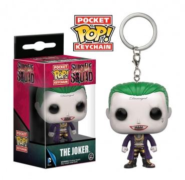 Брелок Funko Pocket POP! Keychain: Suicide Squad: Joker 9358-PDQ