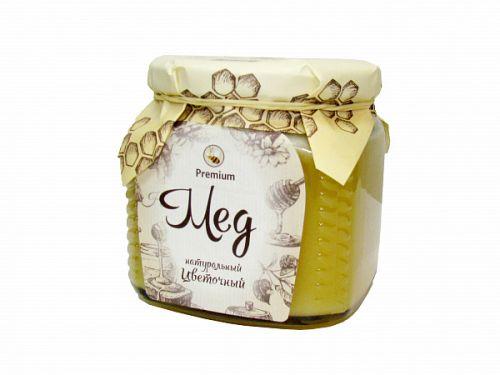 Мёд натуральный цветочный 0,5 КГ
