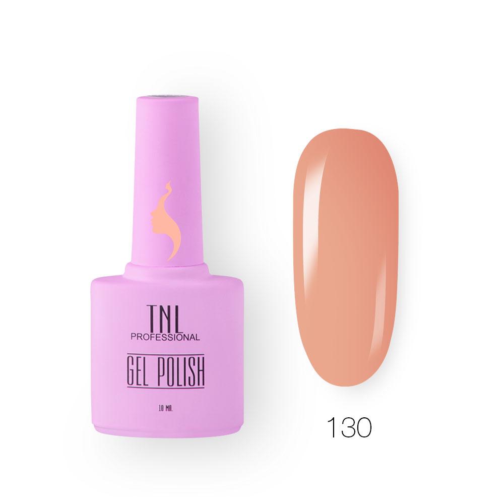 Гель-лак TNL 8 Чувств №130 - южный персик (10 мл.)
