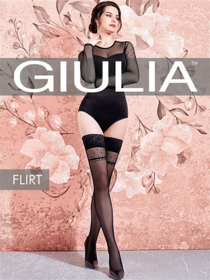 чулки GIULIA Flirt 01 20