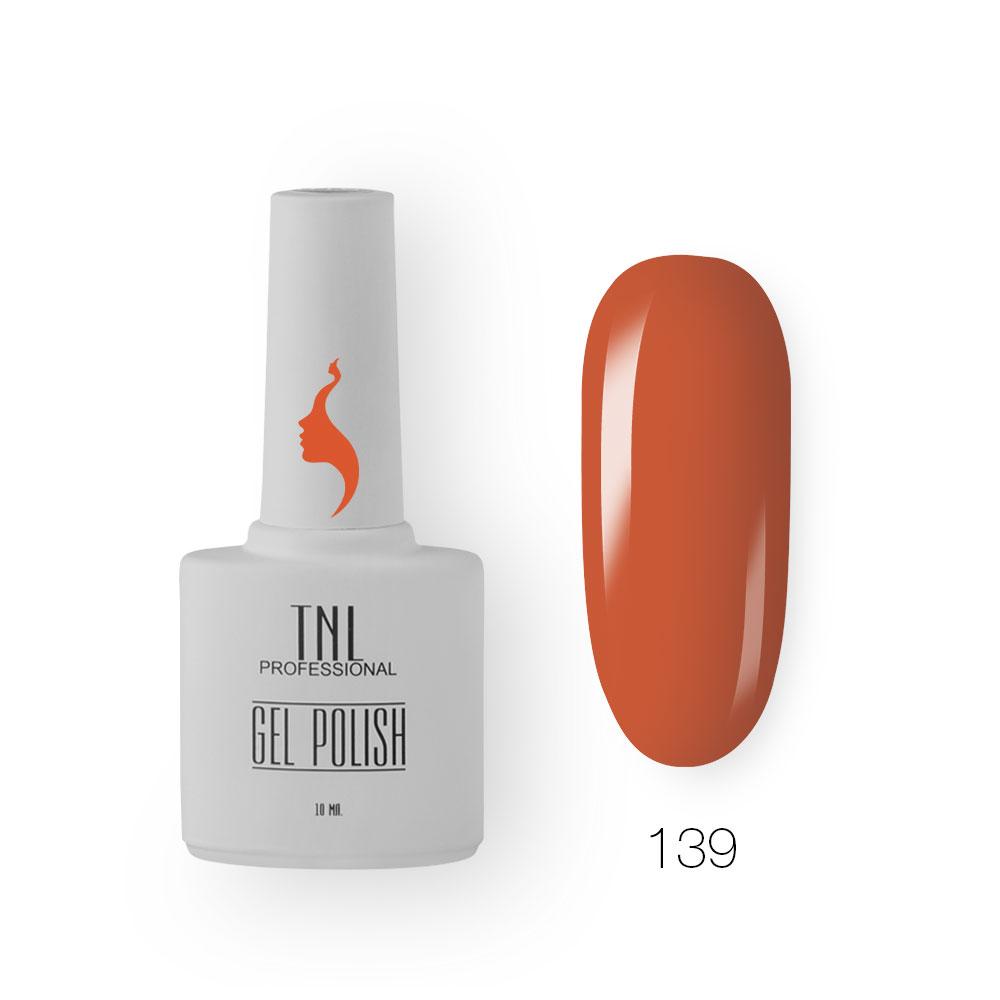 Гель-лак TNL 8 Чувств №139 - абрикосовое варенье (10 мл.)
