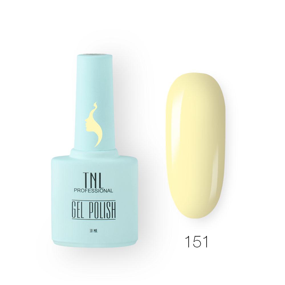 Гель-лак TNL 8 Чувств №151 - заварной крем (10 мл.)