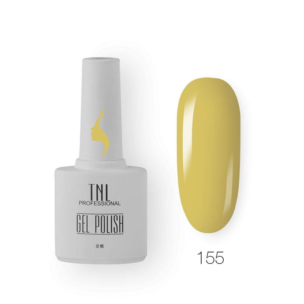 Гель-лак TNL 8 Чувств №155 - оливковый (10 мл.)