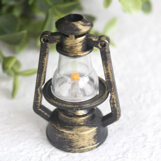 Аксессуар для куклы - Лампа керосиновая 5,5 см.