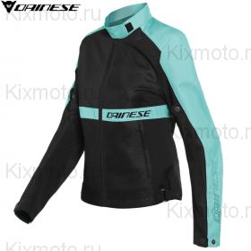 Куртка женская Dainese Ribelle Air, Черно-голубая