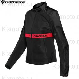 Куртка женская Dainese Ribelle Air, Черно-красная