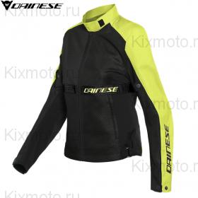 Куртка женская Dainese Ribelle Air, Черный с флуоресцентным желтым