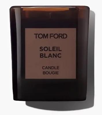 Свеча ароматическая парфюмерная Tom Ford Soleil Blanc