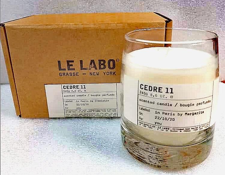 Свеча ароматическая парфюмерная Le Labo Cedre 11