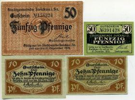 Германия. Нотгельды г. Цвиккау 1919-20