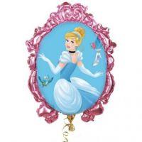 Шар фольгированный Принцессы: Золушка