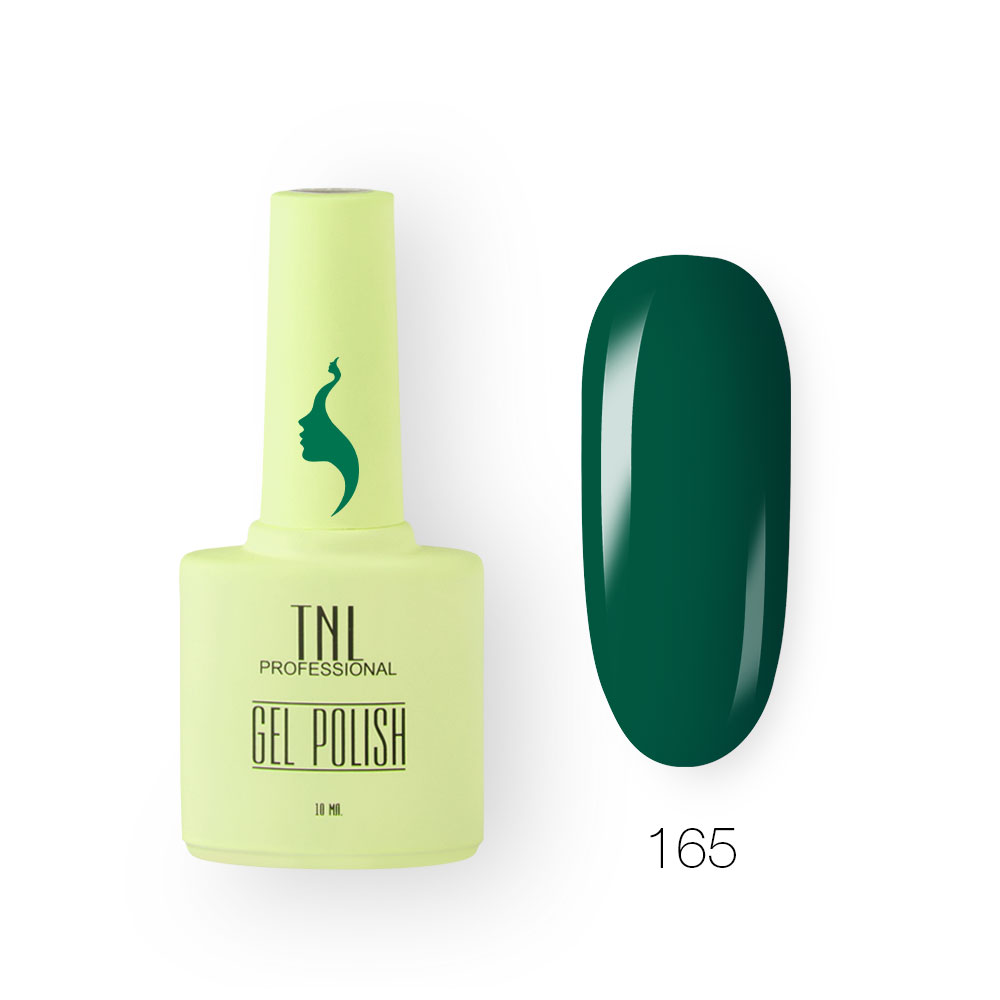 Гель-лак TNL 8 Чувств №165 - травянистый (10 мл.)