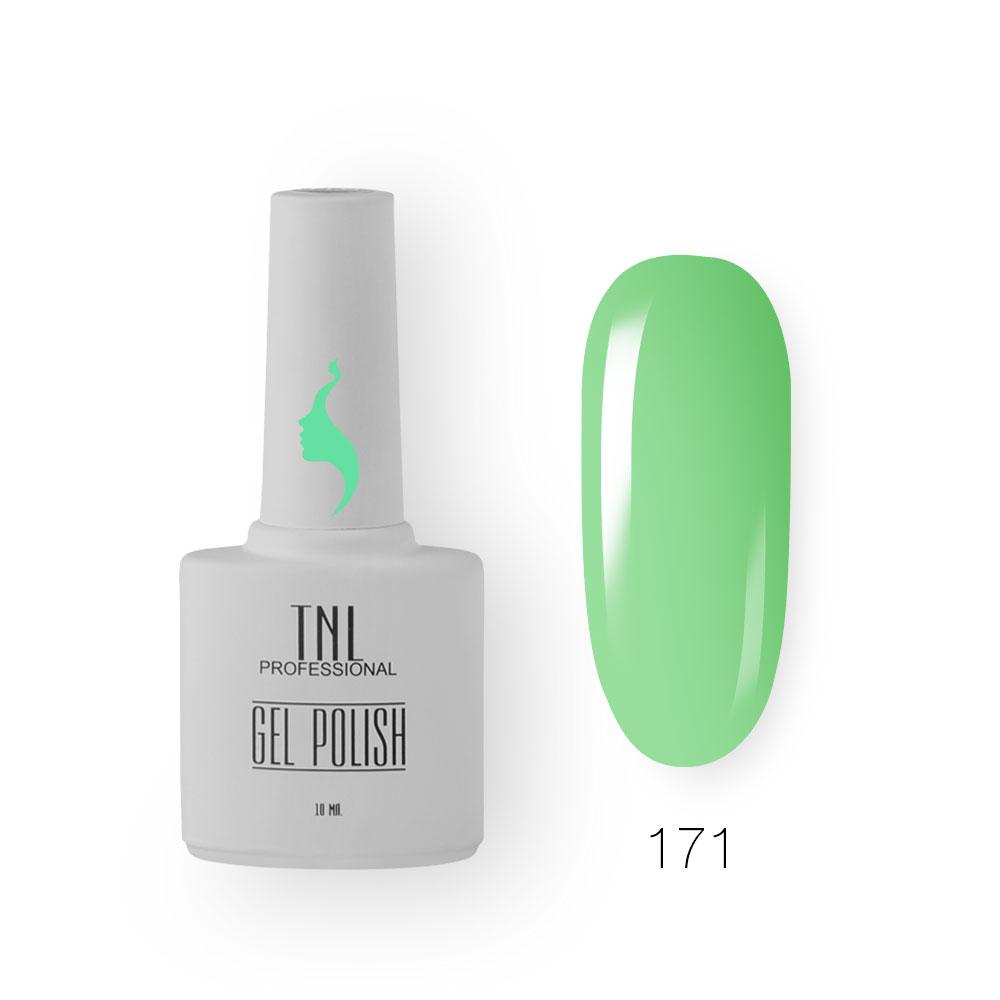Гель-лак TNL 8 Чувств №171 - фисташковое мороженое (10 мл.)