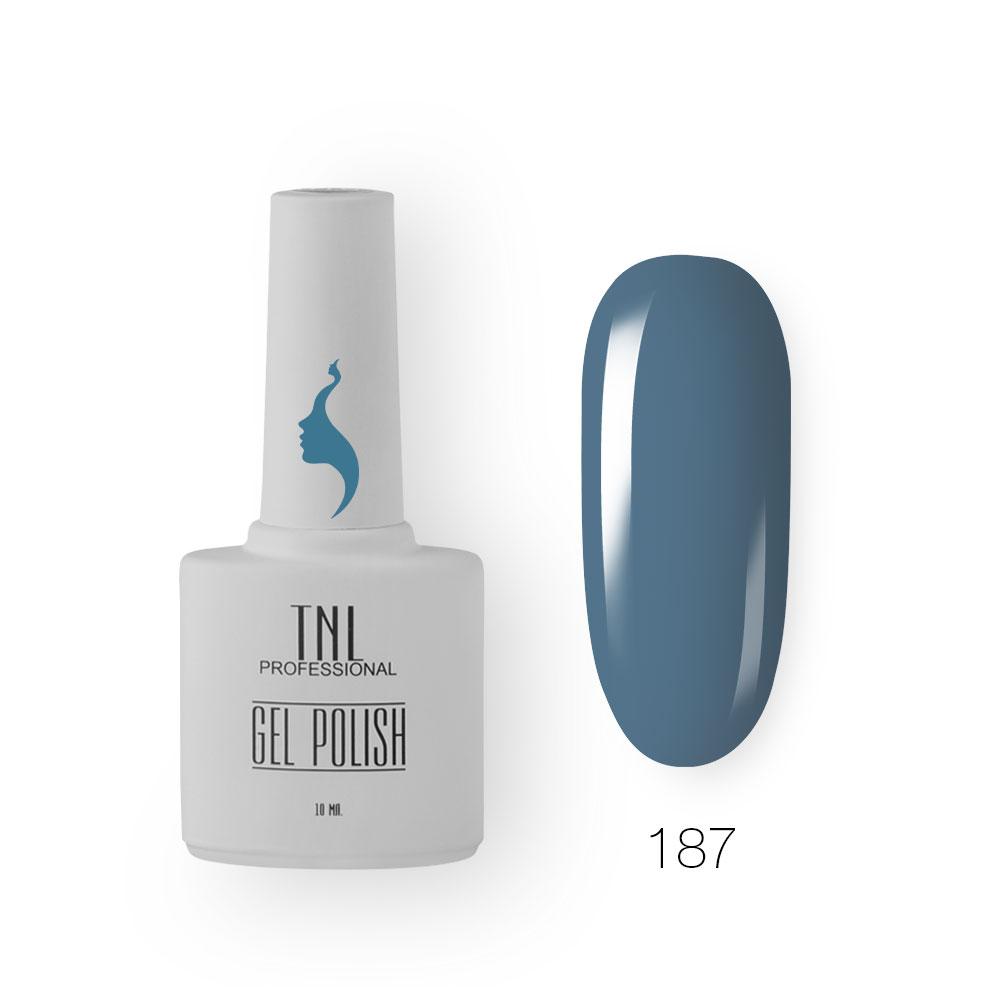 Гель-лак TNL 8 Чувств №187 - арктический (10 мл.)